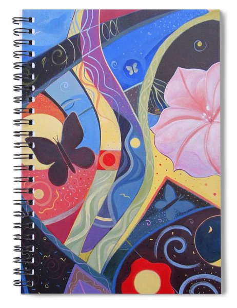 Peace And Flow Spiral Notebook