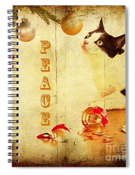 Peace And Joy To All Spiral Notebook