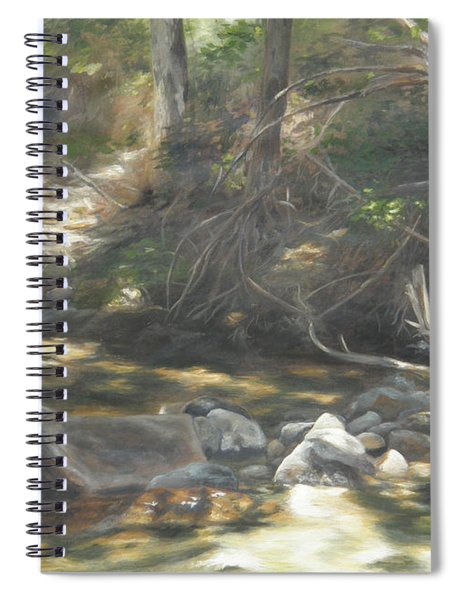 Peace At Darby Spiral Notebook