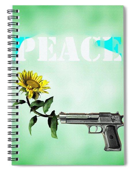 Peace  Spiral Notebook