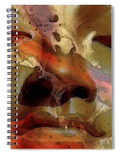 Peace Buddha - Spiritual Art Spiral Notebook