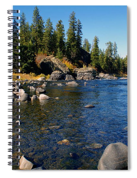 Peace On The Spokane River 2 Spiral Notebook