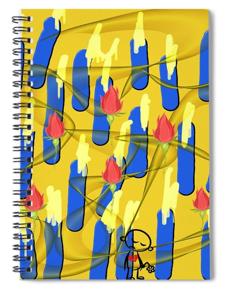 Peace Will Find A Way Spiral Notebook