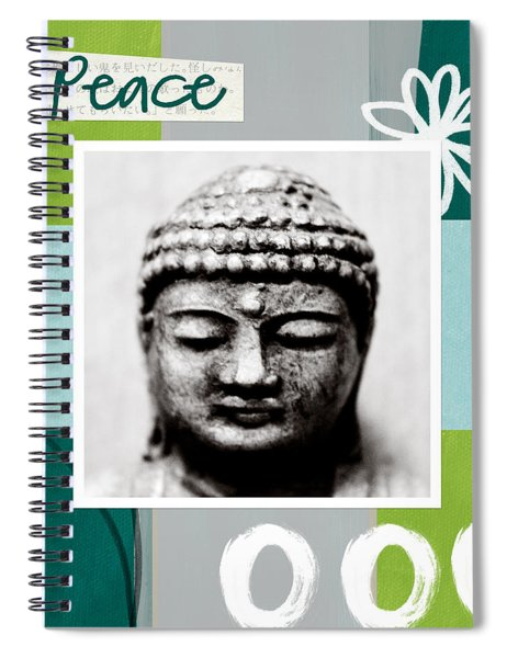 Peaceful Buddha- Zen Art Spiral Notebook