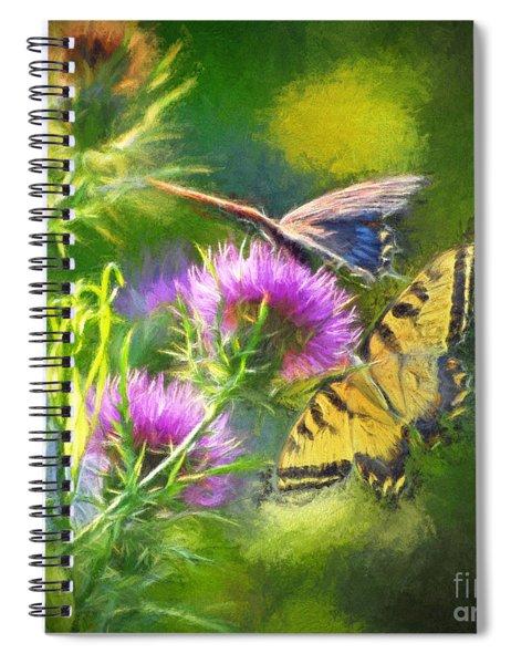 Peaceful Easy Feeling Spiral Notebook
