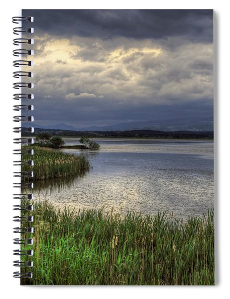 Peaceful Evening At The Lake Spiral Notebook