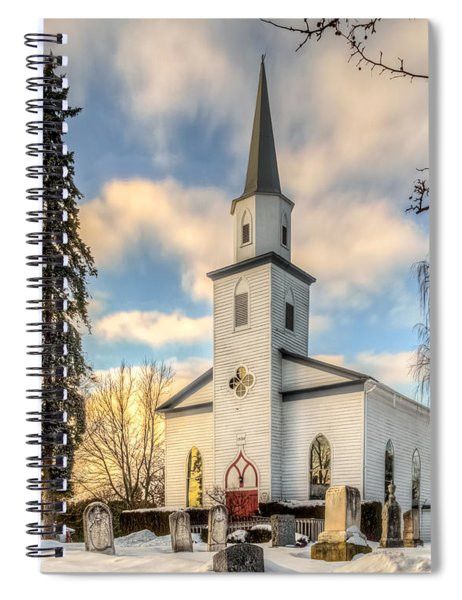 Peaceful Spiral Notebook by Garvin Hunter