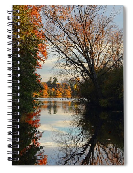 Peaceful October Afternoon Spiral Notebook