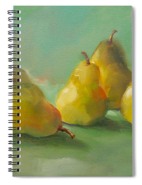 Peaceful Pears Spiral Notebook