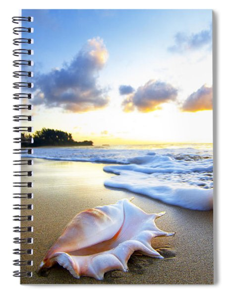 Peaches N' Cream Spiral Notebook