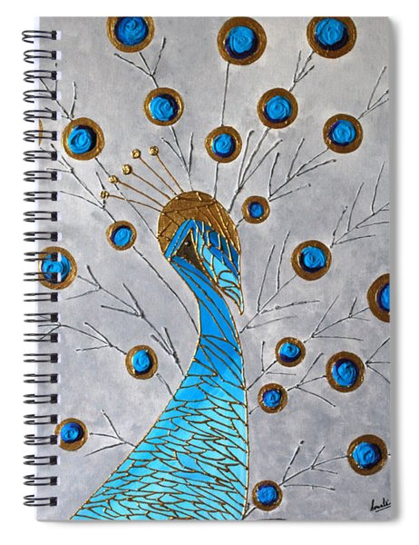 Peacock And Its Beauty Spiral Notebook