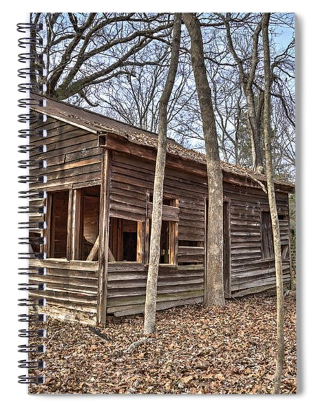 Peak Ruins-1 Spiral Notebook