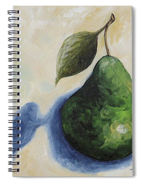 Pear In The Spotlight Spiral Notebook