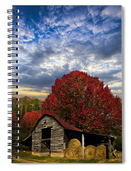 Pear Trees On The Farm Spiral Notebook
