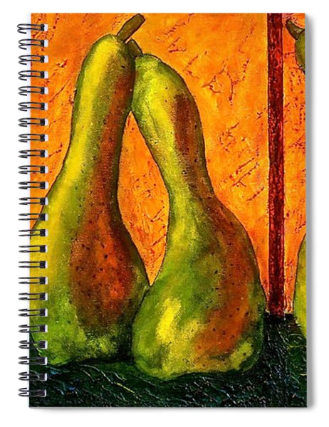 Pear Whimsy Spiral Notebook