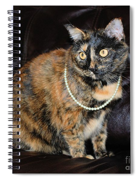 Pearl With Pearls Spiral Notebook