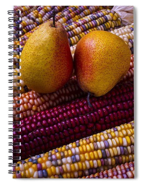 Pears And Indian Corn Spiral Notebook