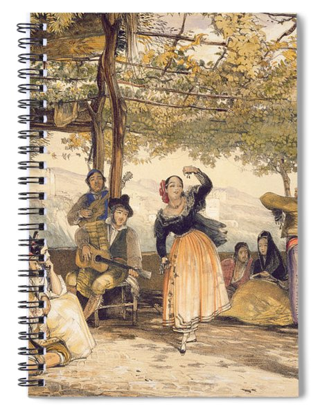 Peasants Dancing The Bolero Spiral Notebook