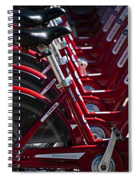 Pedal Power Spiral Notebook