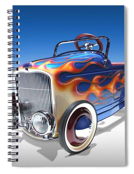 Peddle Car Spiral Notebook