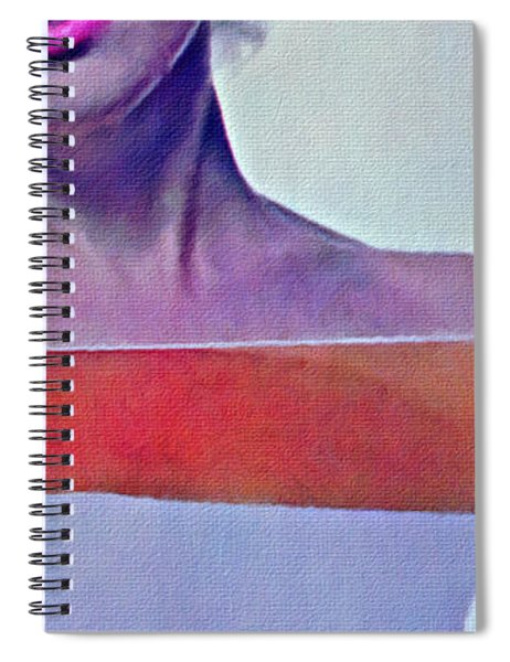 Peek A Boo Marilyn  Monroe Spiral Notebook
