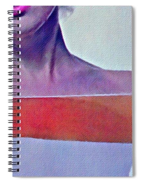 Peek A Boo Marilyn  Monroe Spiral Notebook