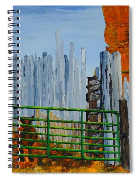 Peek Spiral Notebook