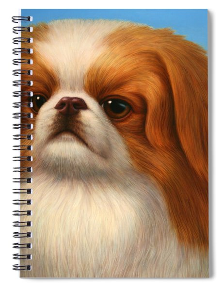 Pekingese Spiral Notebook