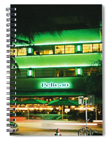 Pelican Hotel Film Image Spiral Notebook