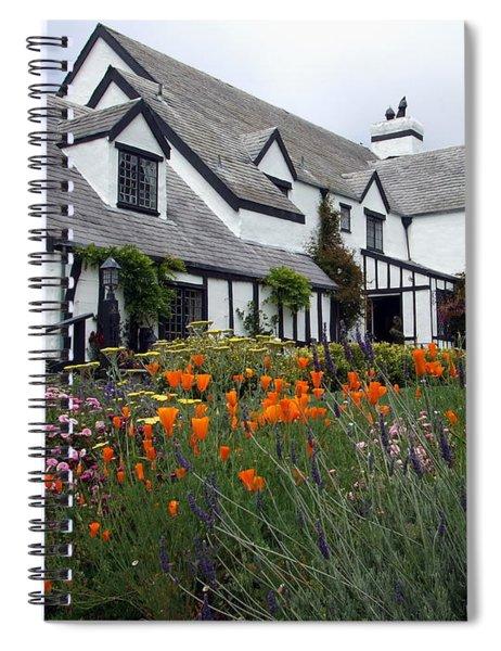 Pelican Inn Garden Spiral Notebook