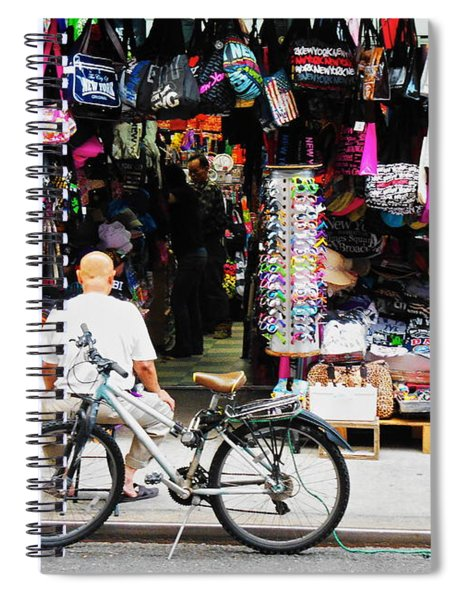Pell St. Chinatown  Nyc Spiral Notebook