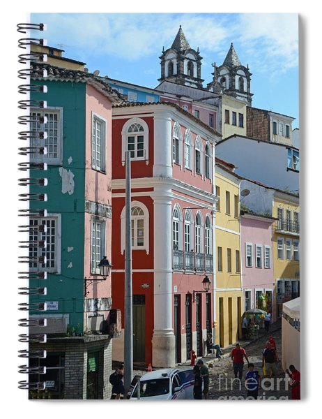 Pelourinho - The Heart Of Salvador Brazil Spiral Notebook