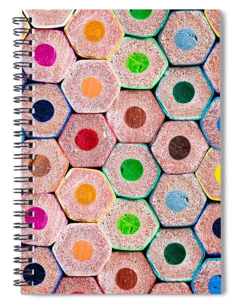 Pencils Spiral Notebook