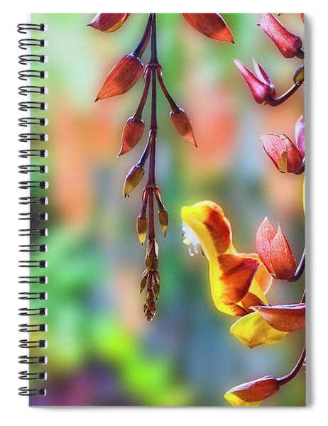 Pending Flowers Spiral Notebook