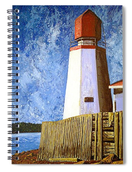 Pendlebury Lighthouse Spiral Notebook