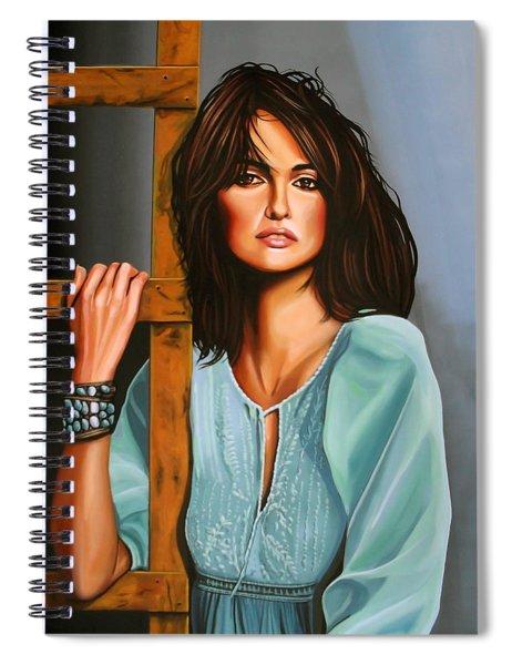 Penelope Cruz Spiral Notebook