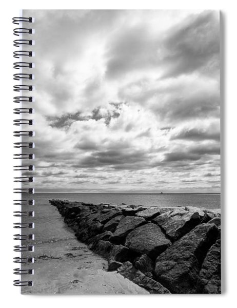 Penfield Beach Jetty Spiral Notebook