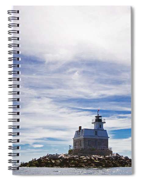Penfield Reef Lighthouse Fairfield Connecticut Spiral Notebook