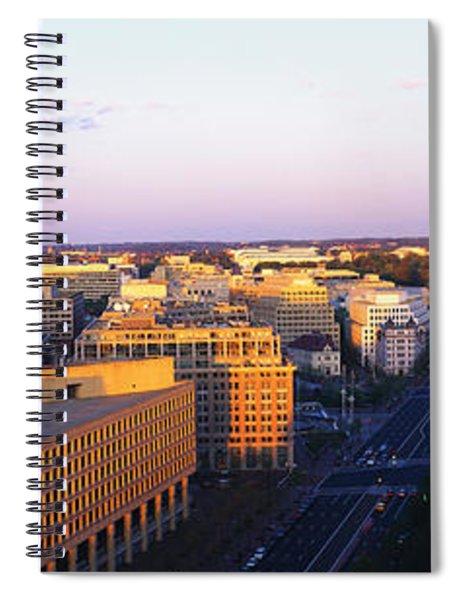 Pennsylvania Ave Washington Dc Spiral Notebook