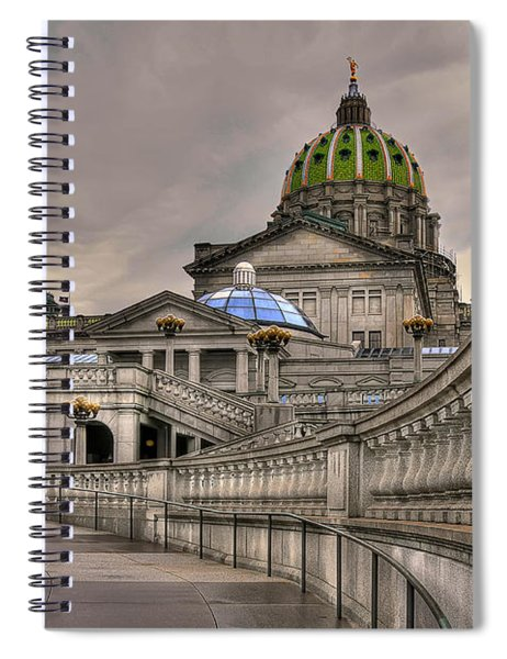 Pennsylvania State Capital Spiral Notebook