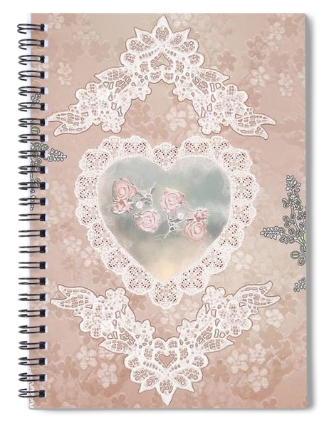 Penny Postcard Passionate Spiral Notebook