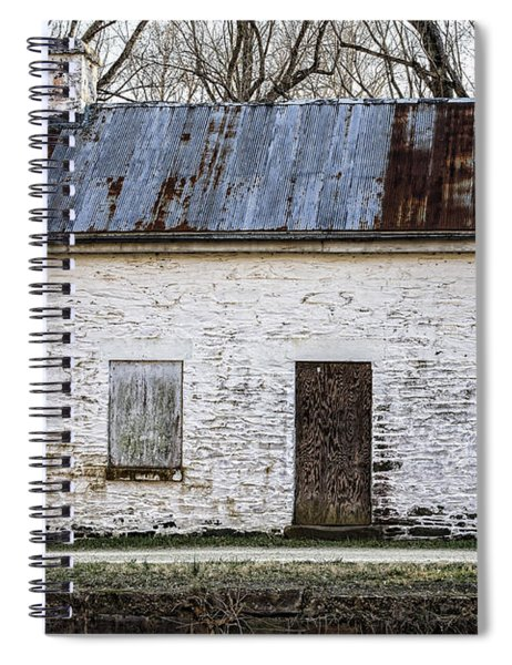 Pennyfield Lockhouse On The C And O Canal In Potomac Maryland Spiral Notebook