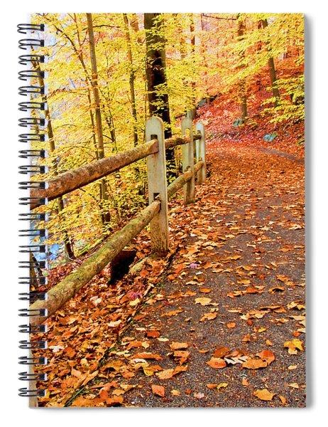 Pennypack Trail Philadelphia Fall Spiral Notebook