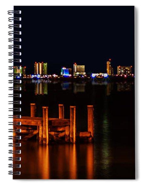 Pensacola Beach Reflections Spiral Notebook