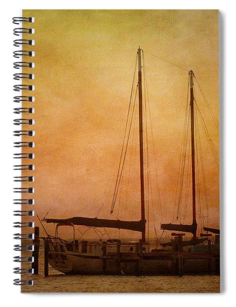 Pensacola Harbor Spiral Notebook