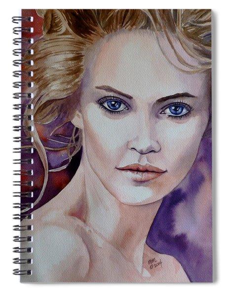 Raw Beauty Spiral Notebook