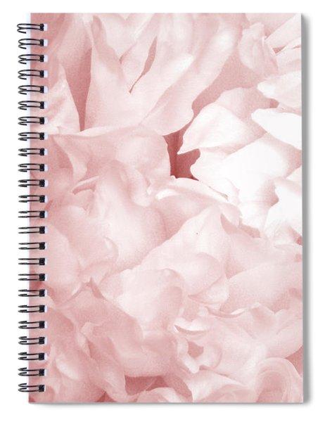 Peony Pink Beauty Spiral Notebook