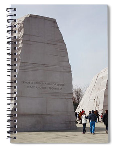 People At Martin Luther King Jr Spiral Notebook