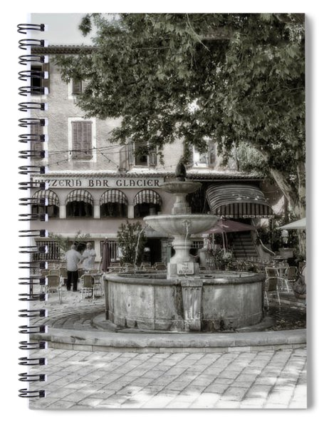 People On The Square Spiral Notebook