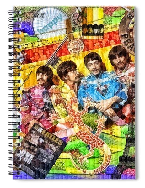 Pepperland Spiral Notebook